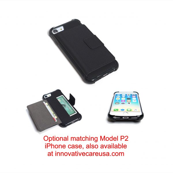 Wallet Case for iPhone 8, 7, 6s and 6 -Impact Resistant -Model P2