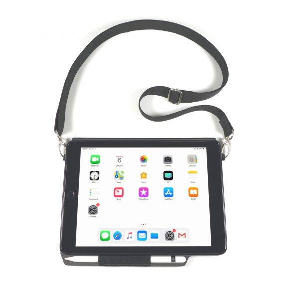 iPAD CASE WITH SHOULDER STRAP FOR 2018 6th GEN, 2017 5th GEN 9.7″, AIR 1 & 2 -MODEL V3